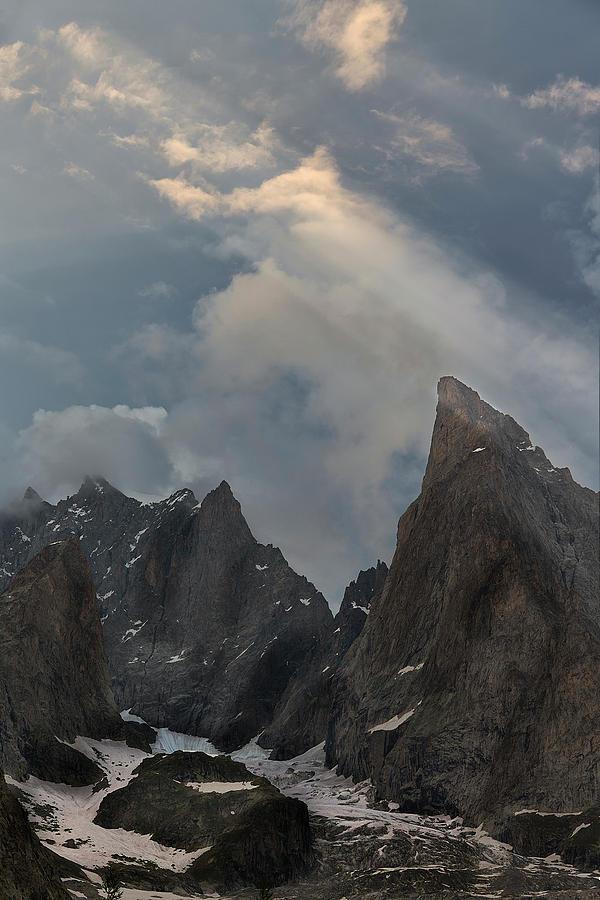 Courmayeur Photograph - Rays On The Alps by Jon Glaser