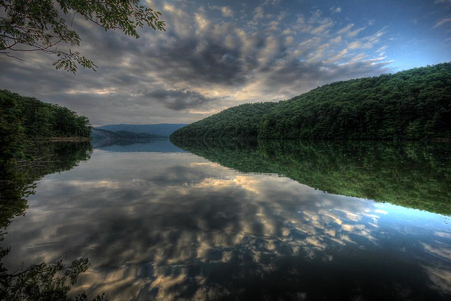 Reflection Photograph - Raystown Reflections by Lori Deiter