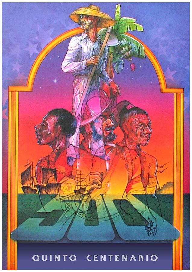 Razas Bravias Painting by William R Clegg