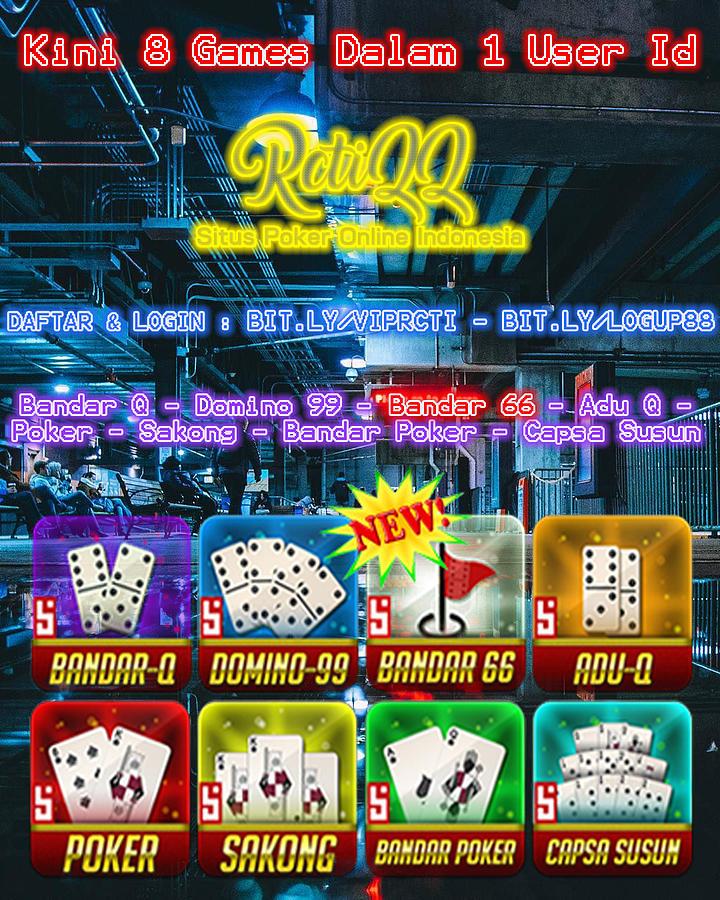 Rctiqq Agen Poker Bandarkiu Domino99 Judi Uang Asli ...