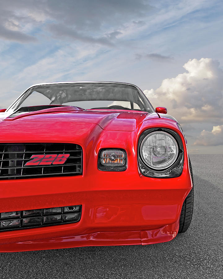 American Muscle Cars For Sale >> Re-sale Red - 78 Camaro Z28 Photograph by Gill Billington