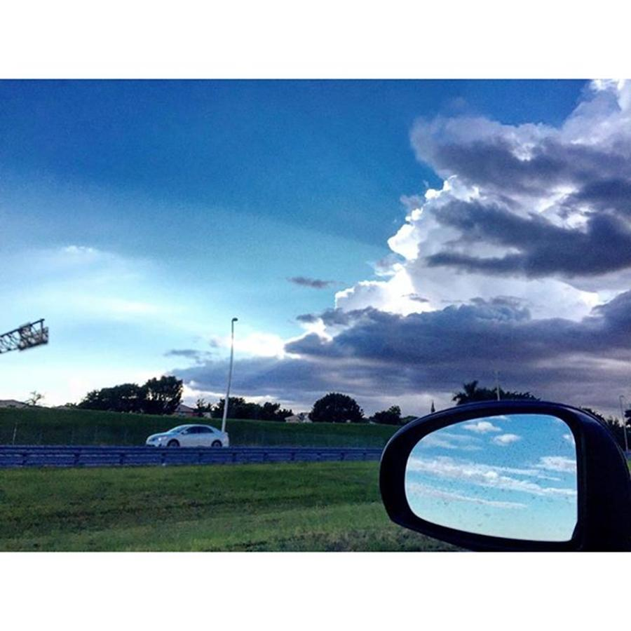 Clouds Photograph - Re Turbina From Work On Sawgrass by Juan Silva
