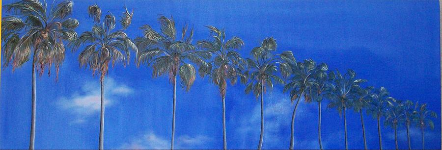 Landscape Painting - Reach For the Sky by Irene Corey