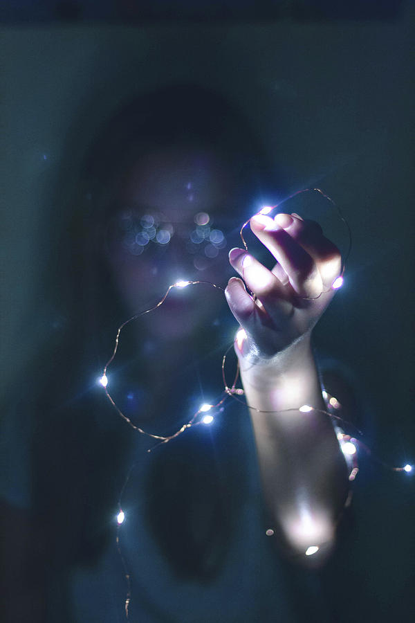 Lights Photograph - Reach Out by Luisa Harrasser