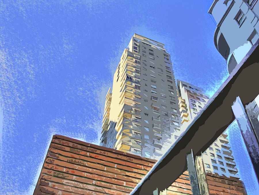 Building Photograph - Reaching For The Sky by Francisco Colon