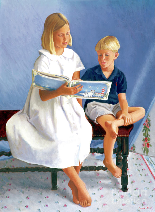 Read To Me Painting