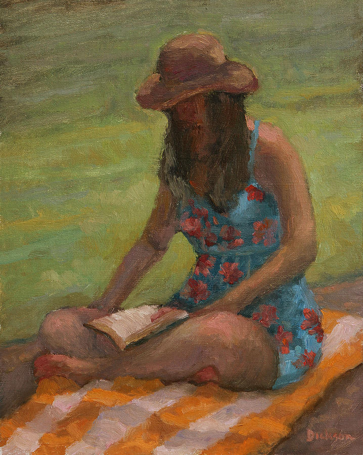 Reading at Jersey Valley by Jeff Dickson