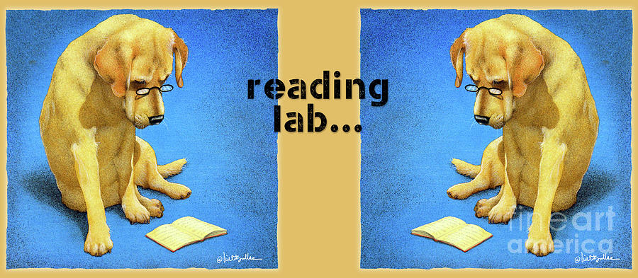 Will Bullas Painting - Reading Lab... by Will Bullas