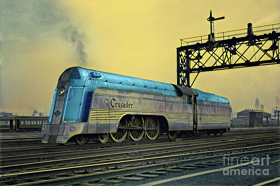 Art for Sale |Reading Railroad Train Art Prints