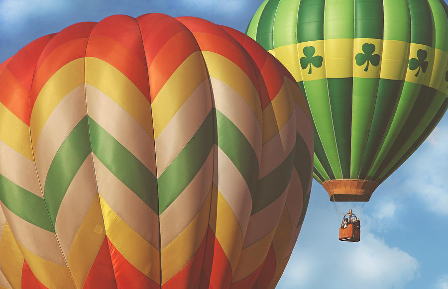 Balloons Photograph - Readington Balloon Festival #2 2015 by Pat Abbott