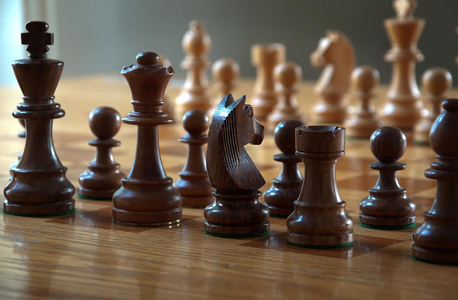 Chess Photograph - Ready for Battle by Frank Mari