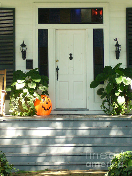 Halloween Photograph - Ready For Halloween by Barbara Oberholtzer