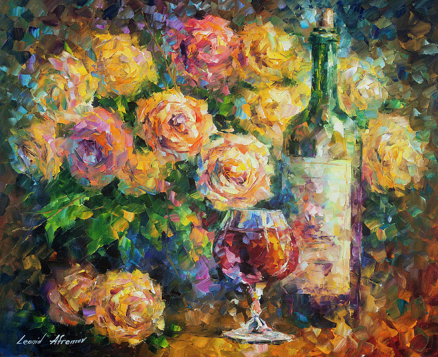 Painting Painting -  Ready For Her  by Leonid Afremov