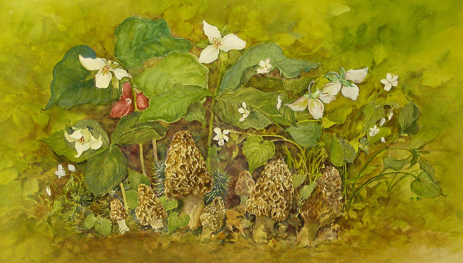 Ready For Pickin Painting by Lois Mountz