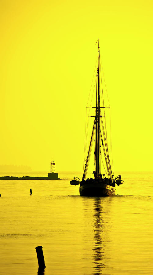 Windjammer Photograph - Ready For Sails  by Jeff Cooper