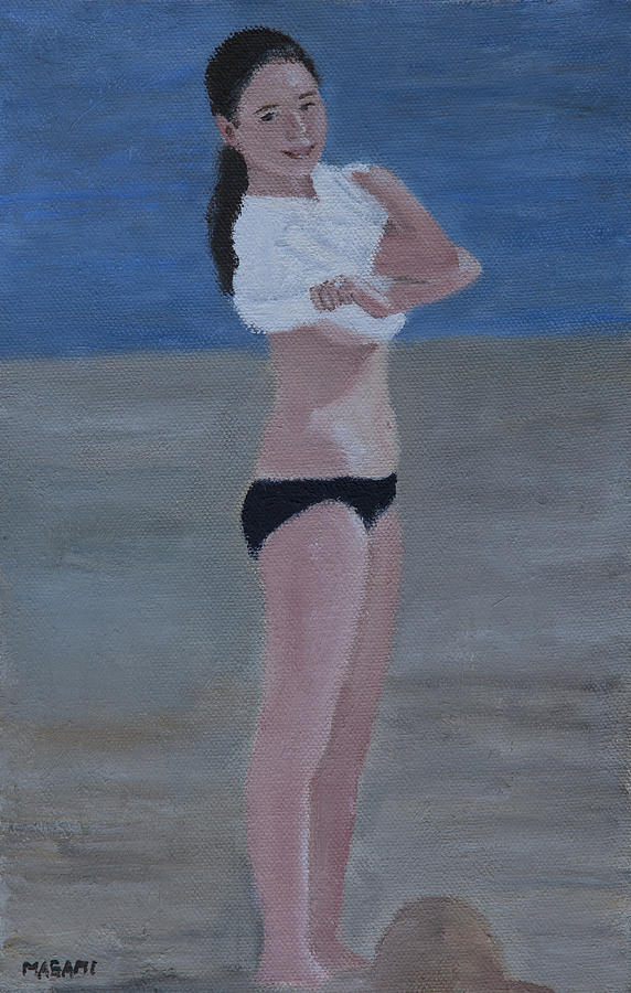 Nude Painting - Ready For Summer Fun by Masami Iida