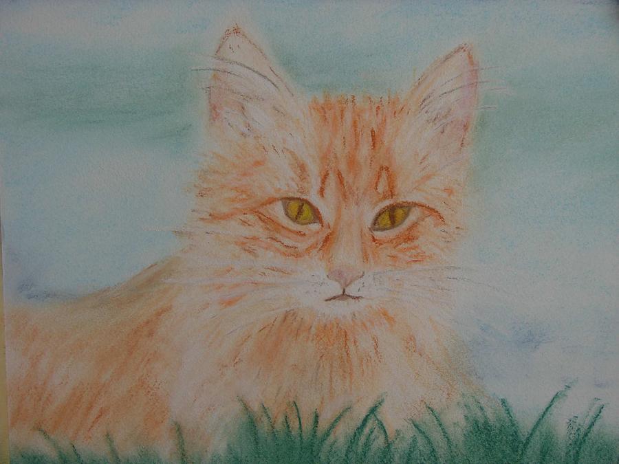 Kitty Pastel - Ready For The Pounce by Shiana Canatella