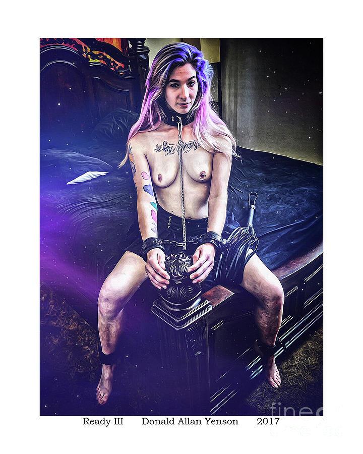 Emo Photograph - Ready IIi by Donald Yenson