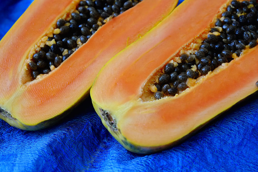 Fruits Photograph - Ready Papaya by August Timmermans