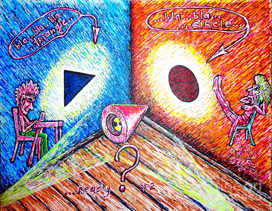Viktor Painting - Ready?..../part Two/ by Viktor Lazarev