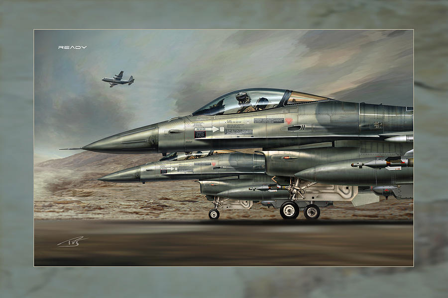 War Digital Art - Ready by Peter Van Stigt