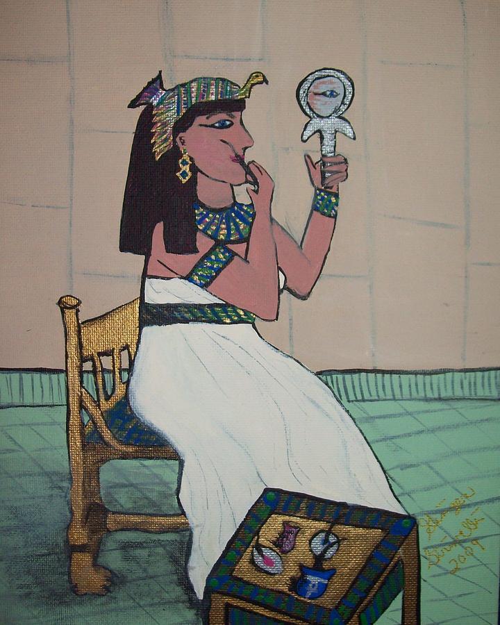 Egyptian Painting - Ready To Meet Pharoah by Ginger Strivelli