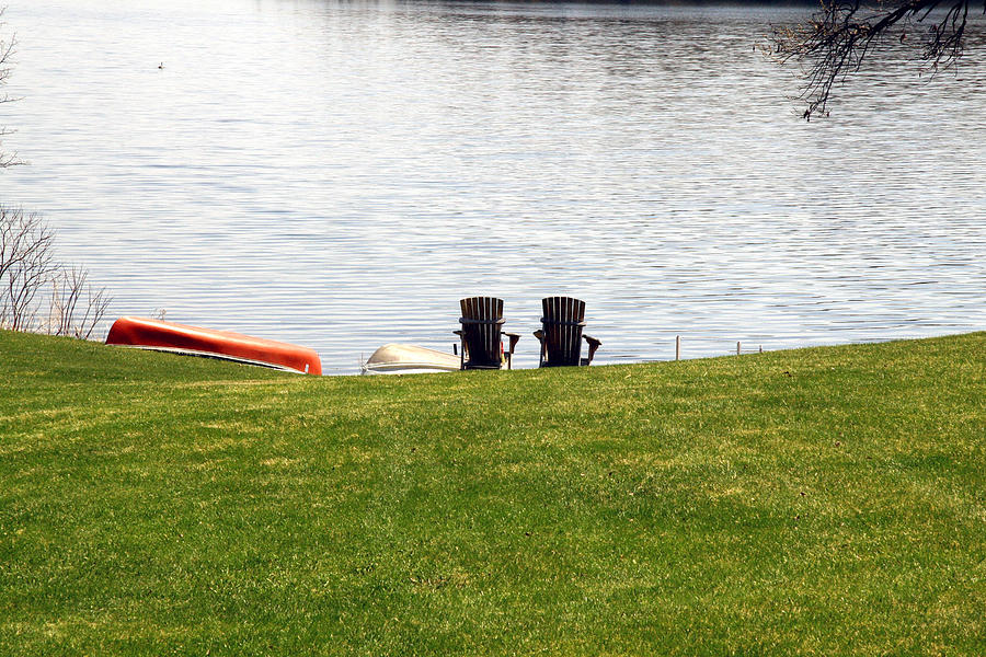 Lakeside Photograph - Ready To Relax by Amelia Painter