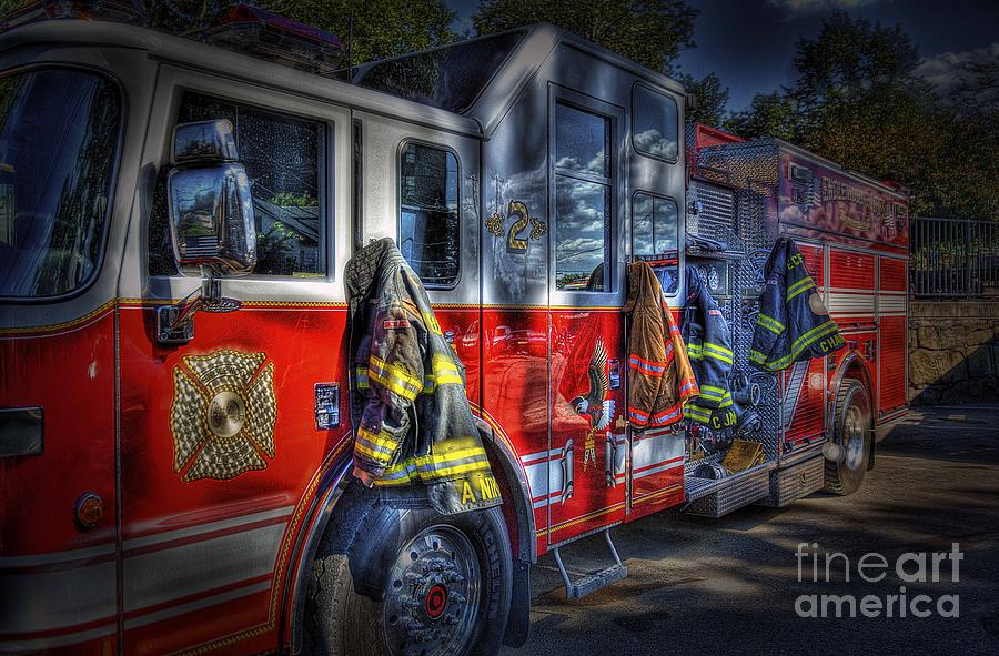 Fire Photograph - Ready To Roll by Arnie Goldstein