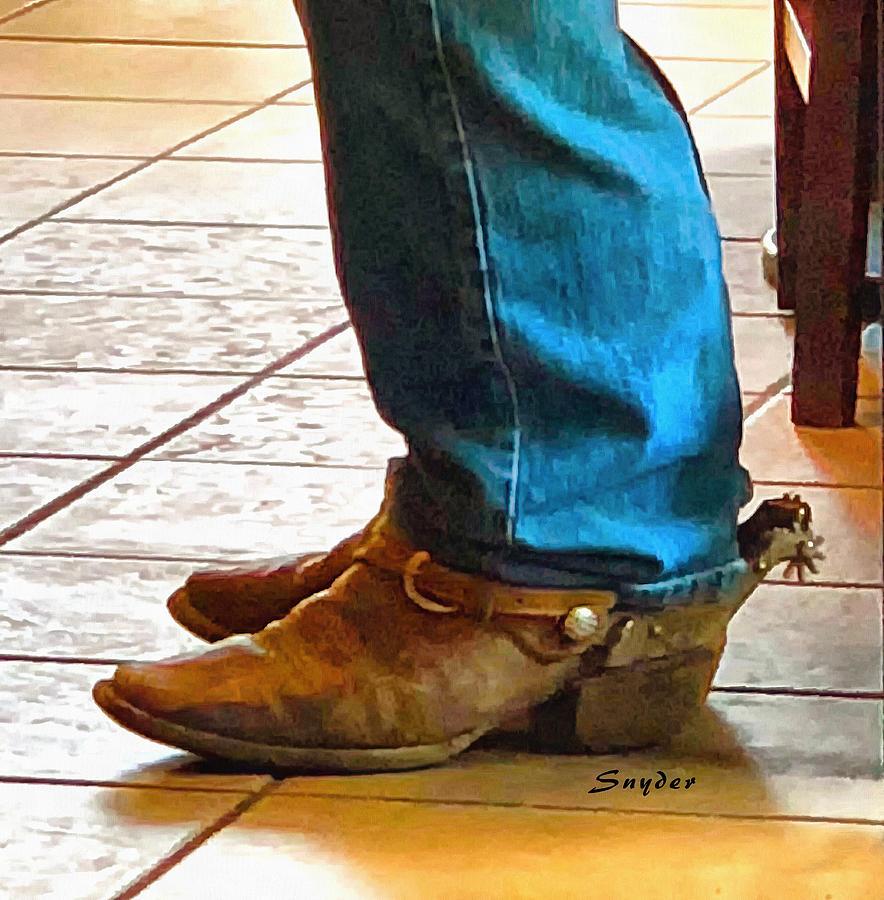 Real Cowboy Real Cowboy Boots Real Spurs
