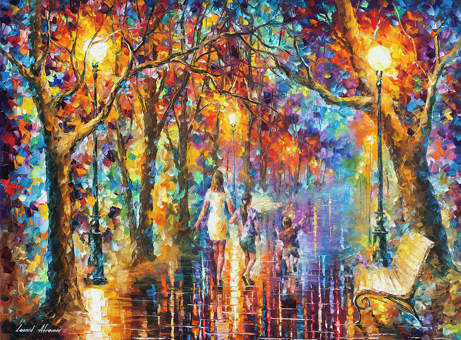 Painting Painting - Real Dreams   by Leonid Afremov