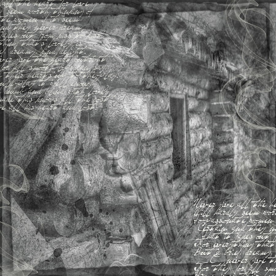 Collage Digital Art - Reality by Nadine Berg