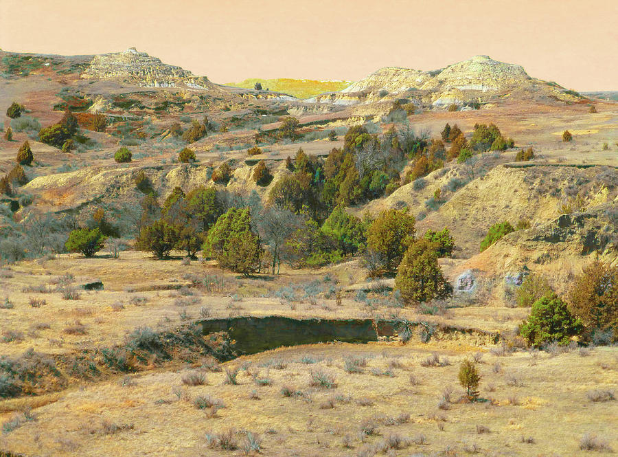 North Dakota Photograph - Realm Of Golden West Dakota by Cris Fulton