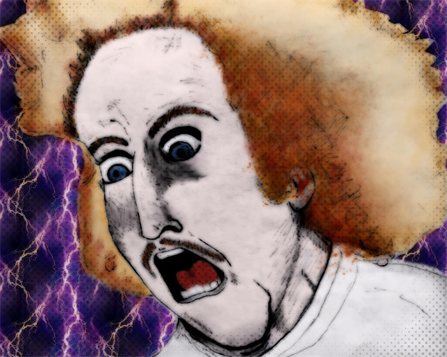 Young Frankenstein Digital Art - Reanimator by Kim Lentz