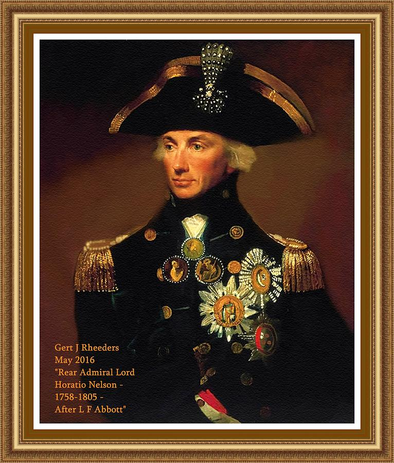 Rear Admiral Lord Horatio Nelson