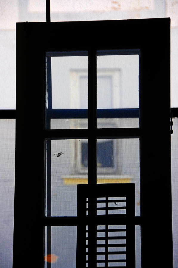 Architecture Photograph - Rear Window 2 by Skip Hunt