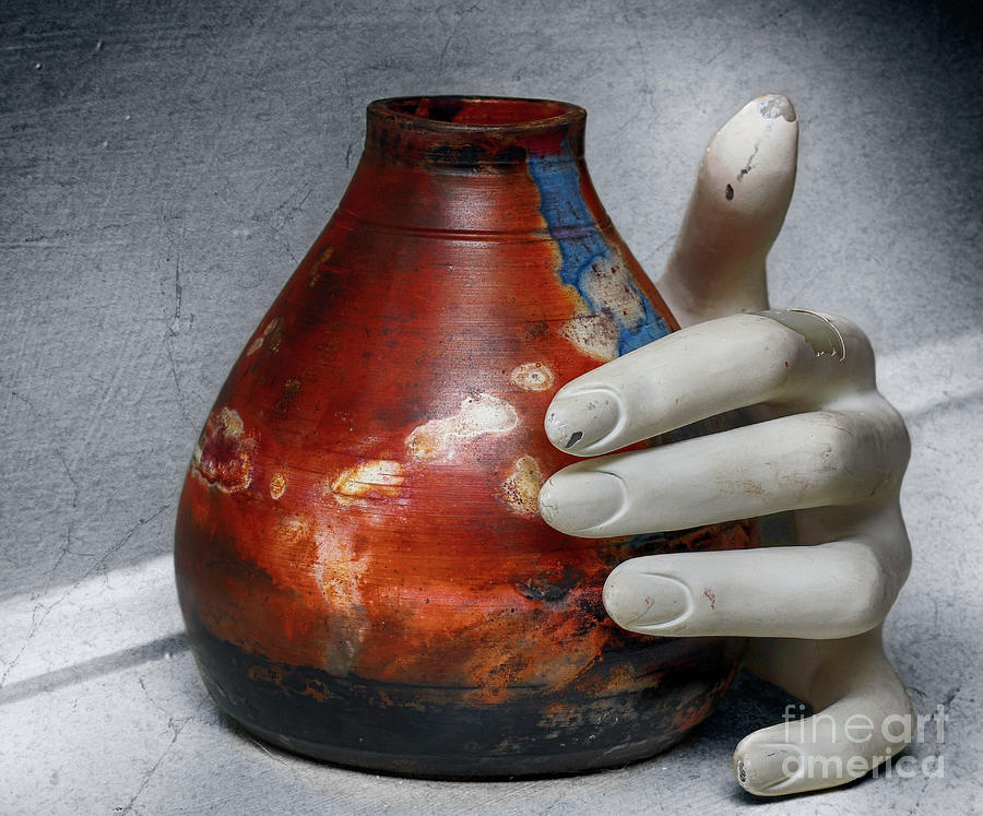 Pottery Photograph - Reason And Perspective  by Steven Digman