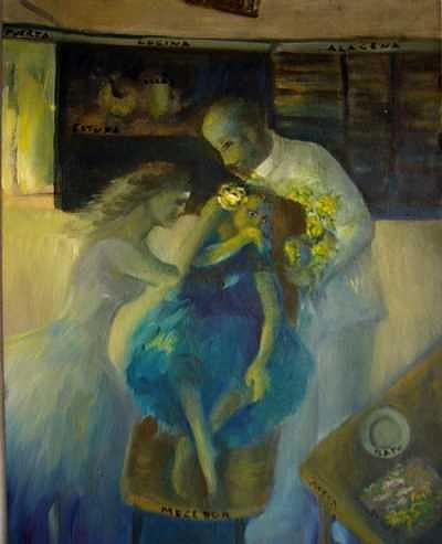 Series Painting - Rebecas Dream by Lozano Mary