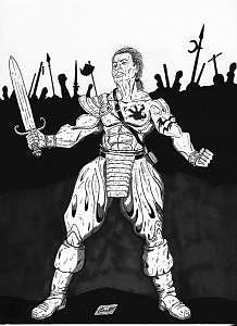 Rebellion Drawing - Rebellion by Louis Myers