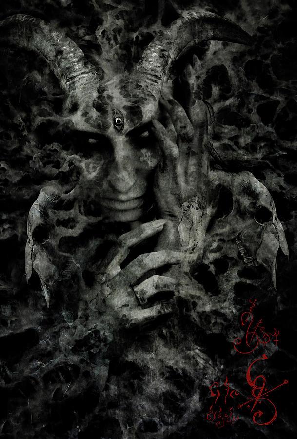 Demon Digital Art - Rebirth by Cambion Art