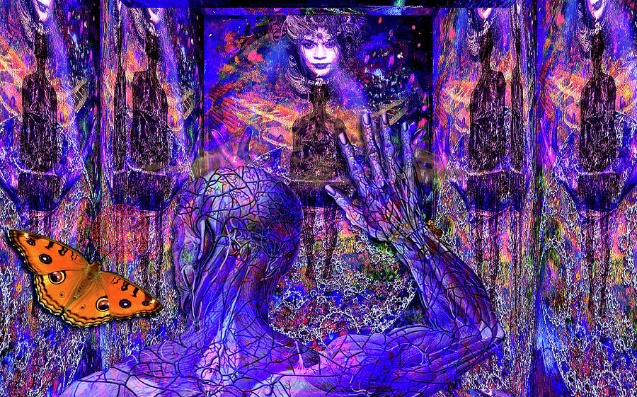 Spiritual Rebirth Of The Blue Planet Digital Art