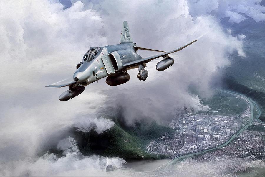 Aviation Digital Art - Recce Rebel by Peter Chilelli