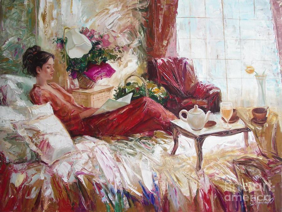 Painting Painting - Recent News by Sergey Ignatenko