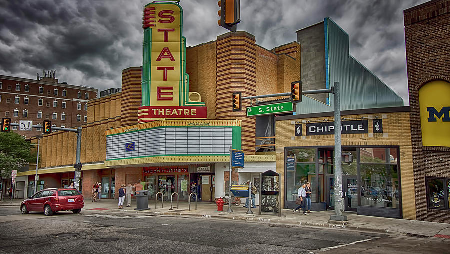 Remodeled State Theatre Photograph