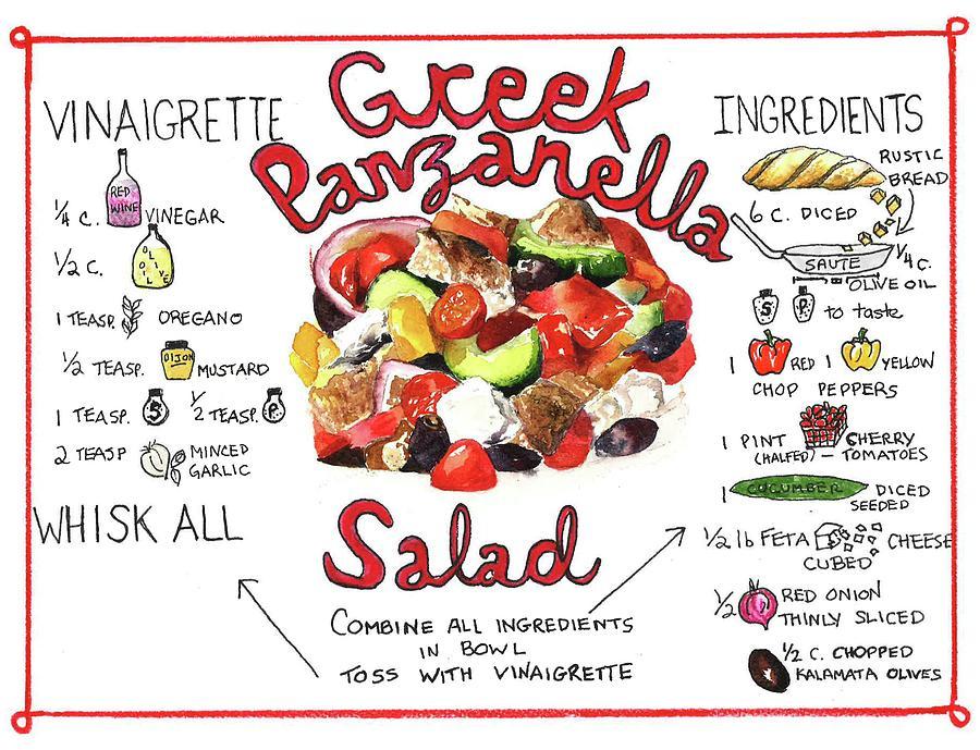 Recipe- Panzanella Salad by Diane Fujimoto