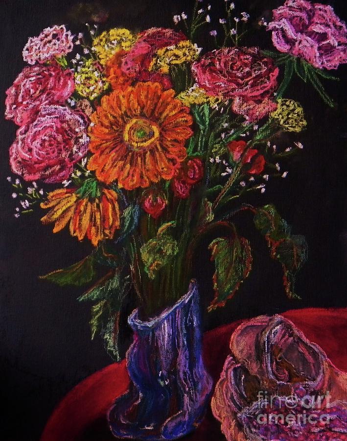 Flowers Pastel - Recital Bouquet by Emily Michaud