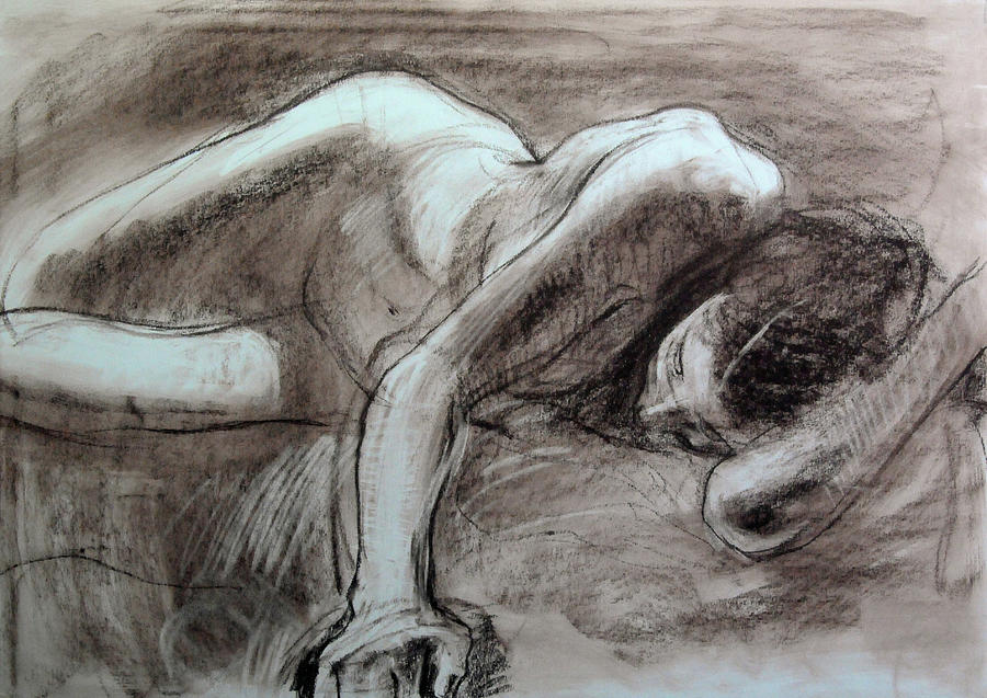 Reclining Female by Harry Robertson