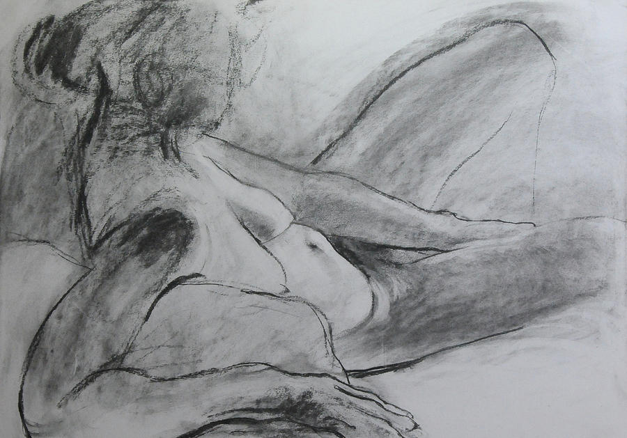 Reclining Figure by Harry Robertson