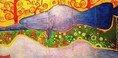 Nude Painting - Reclining Nude by Janice Webb