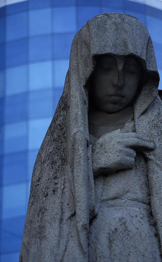 Recoleta Photograph - Recoleta Statue by Marcus Best