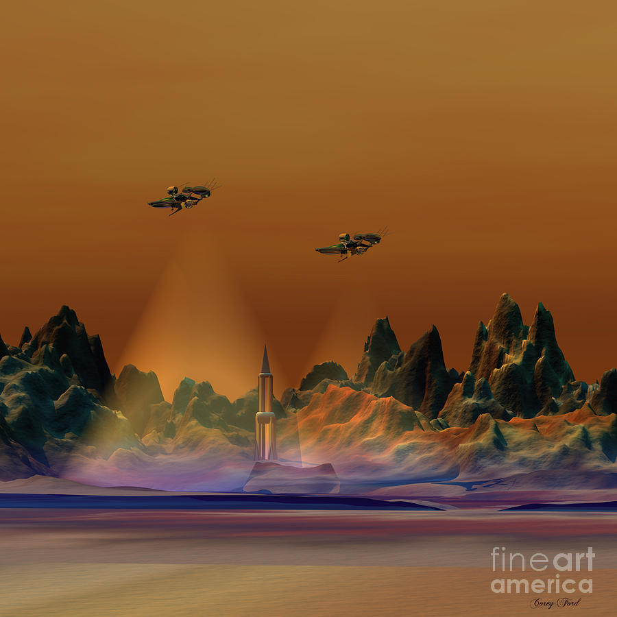 Aircraft Painting - Recon by Corey Ford